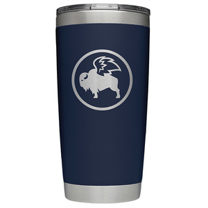 Yeti Rambler - 20oz Tumbler w/the BWW logo onto 1 side.  Lid included