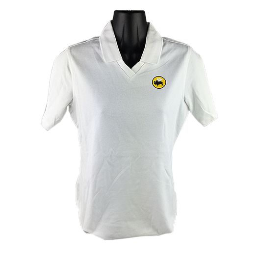 WOMENS WHITE PA Rapid Dry Polo