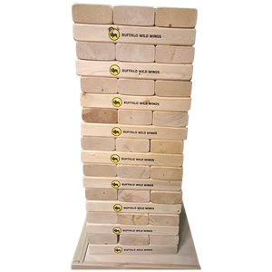 JENGA AND CARRYING CASE WITH FULL COLOR LOGO