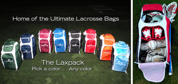 lacrosse bag with storage compartments