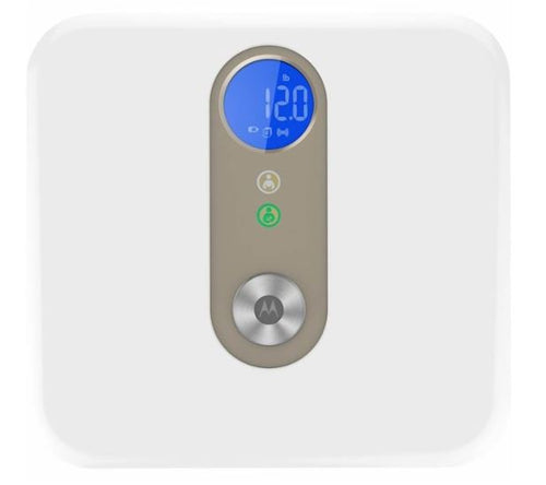 Motorola Smart Scale with Smartphone Weight Tracking and Tare Function