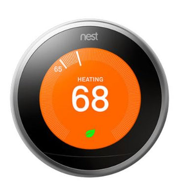 Nest Learning Thermostat (Stainless Steel)