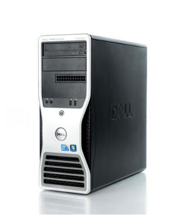 Dell Precision T3500 Tower Fixed Workstation Intel Xeon W3565 Quad-Core 12GB RAM 1TB HDD + 120GB SSD Win10 Pro (Off-Lease Refurbished)