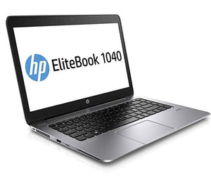 "HP Elitebook Folio 1040 G2 14"" Laptop Intel Core i5-5300U 8GB RAM 256GB SSD Win10 Pro (Off-Lease Refurbished)"