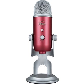 Blue Microphones Yeti USB Steel Red Microphone