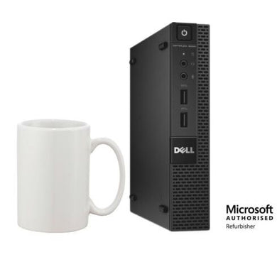 Dell Optiplex 9020 Micro Desktop Intel i5-4570T 16GB 512GB SSD Win10 Pro (Off-Lease Refurbished)