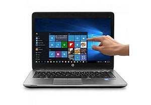 "HP 840 G1 Elitebook Touch Laptop 14"" HD+ Intel Core i5-4300U 8GB RAM 256GB SSD Win10 Pro (Off-Lease Refurbished)"