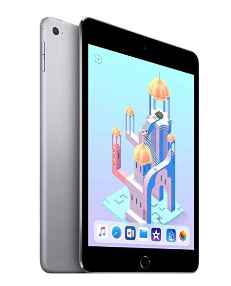 Apple iPad Mini 4 Tablet 64GB Wi-Fi + 4G LTE Space Gray (Refurbished)