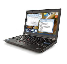 "Lenovo Thinkpad X220 12.5"" Laptop Intel Core i5-2510 4GB RAM 320GB HDD Win10 Pro (Off-Lease Refurbished)"