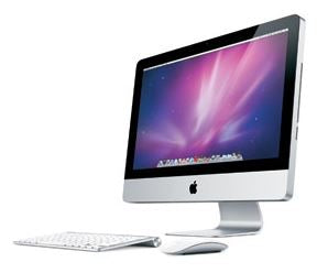 "Apple iMac MC508LL/A 2010 21.5"" All-in-One Desktop Intel Core i3-2100 4GB RAM 250GB HDD Mac OS X (Off-Lease Refurbished)"