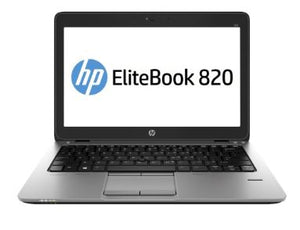 "HP Elitebook 820 G1 12.6"" Laptop Intel Core i5-4200u 8GB RAM 120GB SSD Win10 Pro (Off-Lease Refurbished)"
