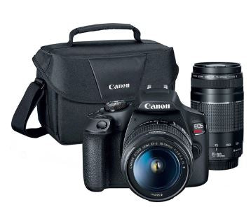 Canon Eos Rebel T7 Dslr Camera With Ef18 55mm Ef 75 300mm Kit