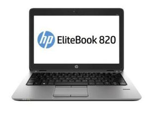 "HP Elitebook 820 G2 12.5"" Laptop Intel Core i5-5200U 8GB RAM 180GB SSD Win10 Pro (Off-Lease Refurbished)"