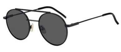 Fendi 52mm Round Aviator Sunglasses