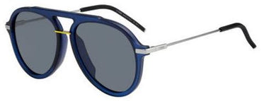 Fendi 58mm Round Aviator Sunglasses
