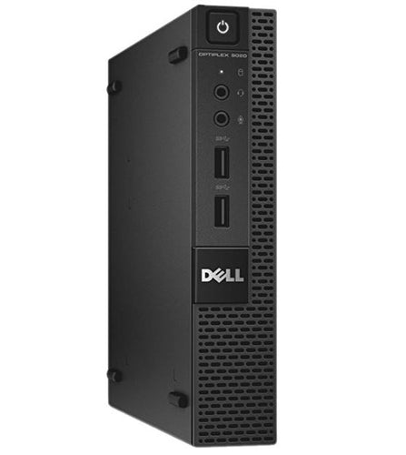 Dell Optiplex 9020 Micro Desktop Intel Core i3-4160T 8GB RAM 256GB SSD Win 10 Pro (Off-Lease Refurbished)