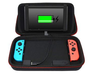 Deco Gear Charging Case for Switch with Built-in Stand + 10000mAh Rechargeable Battery