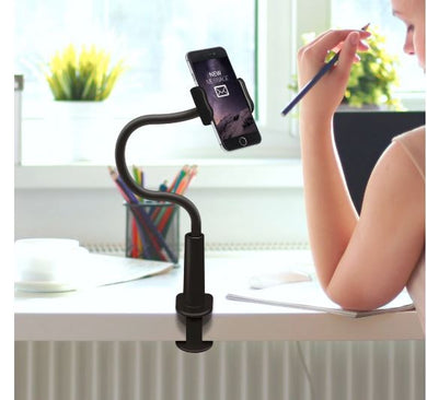 Aduro Solid-Grip 360 Adjustable Universal Gooseneck Smartphone Stand for Desk (2 Colors Available)