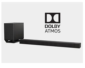 Sony HTST5000 7.1.2-Channel Hi-Res 800W Soundbar with Wireless Subwoofer