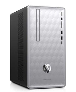 HP Pavilion 590-p0070 Desktop Intel Core i7-8700 12GB RAM 1TB HDD Win10 Home (Refurbished)