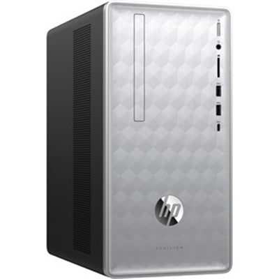 HP Pavilion 590-p0081c Desktop Intel Core i5-8400 12GB RAM 16GB Optane + 1TB HDD AMD Radeon RX 550 Win10 Home (Refurbished)