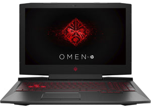 "HP OMEN 15-ce020ca 15.6"" Intel i7-7700HQ Laptop, 8GB RAM, 2TB HDD + GTX 1050 - Refurbished"