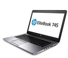 "HP 745 G2 14"" Laptop AMD A6 7050B 4GB RAM 128GB SSD Win10 Home (Off-Lease Refurbished)"