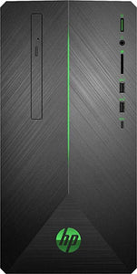 HP Pavilion 690-0009 Gaming Desktop Intel Core i5-8400 8GB RAM 128GB SSD + 1TB HDD Win10 Home NVIDIA GeForce GTX 1050 Ti (Refurbished)