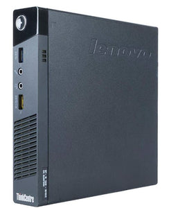 Lenovo ThinkCentre M93p Tiny Desktop Intel Core i5-4570T 8GB RAM 256GB SSD Win10 Pro (Off-Lease Refurbished)