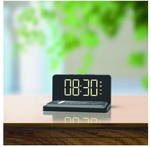 Acesori Alarm Clock with Wireless Charging Pad