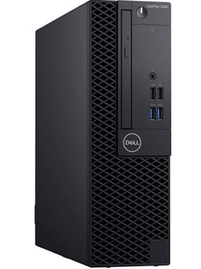 Dell OptiPlex 3060 Small Form Factor Desktop Intel Core i5-8500 16GB RAM 256GB SSD Win10 Pro (Off-Lease Refurbished)