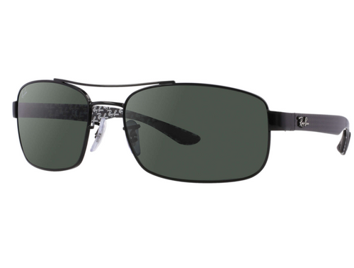 Ray-Ban Tech Carbon Fiber Green Classic G-15 Sunglasses