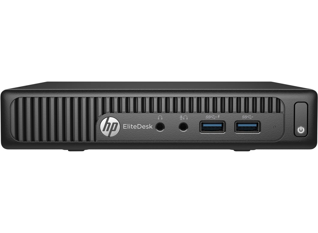 HP EliteDesk 705 G2 Mini Desktop AMD A10 8700B 8GB RAM 256GB SSD Win10 Pro (Off-Lease Refurbished)