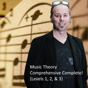 Music Theory Comprehensive Complete! (Levels 1, 2, & 3)