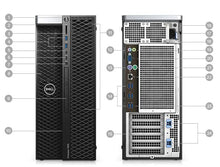 Dell Precision 5820 Desktop Intel Xeon W-2104 32GB RAM 2x 500GB HDD + Nvidia Quadro P400 Win10 Pro (Off-Lease Refurbished)