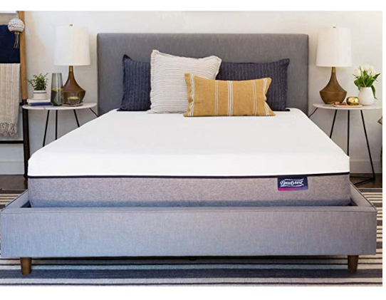 Simmons Beautysleep Memory Foam Mattress-in-A-Box