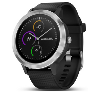 Garmin Vivoactive 3 GPS Fitness Smartwatch (Black & Stainless)