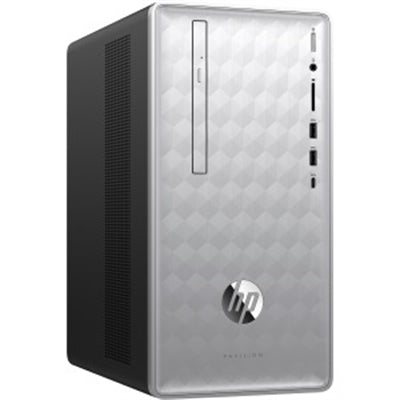 HP Pavilion Desktop 590-p0086 Intel Core i7-8700 8GB RAM 16GB Optane + 1TB HDD Win10 Home (Refurbished)