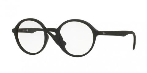 Ray-Ban 7075F Eyeglasses (Black)
