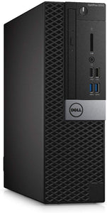 Dell Optiplex 5050 SFF Desktop Intel Core i5-6400 8GB RAM 240GB SSD Win10 Pro (Off-Lease Refurbished)