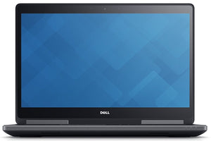 "Dell Precision 7710 17.3"" Workstation Laptop FHD Intel Core i7-6820HQ 16GB 512GB Nvidia Quadro M3000M Win10 Pro (Off-Lease Refurbished)"