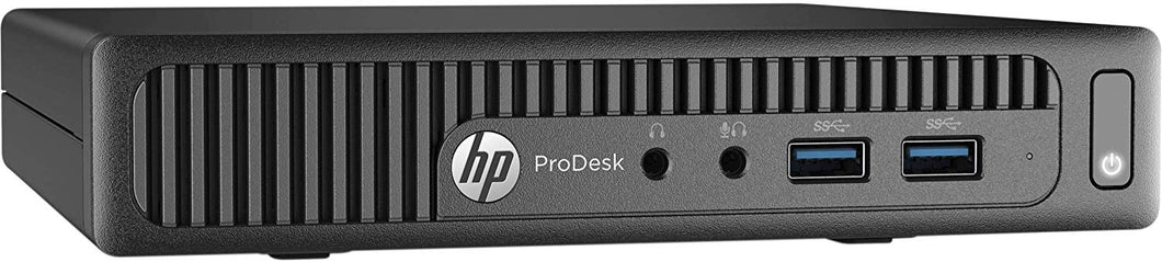 HP ProDesk 400 G2 Micro Desktop Intel Core i5-6400T 240GB SSD Win10 Pro (Off-Lease Refurbished)