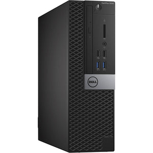 Dell Optiplex 3040 8GB 256GB SSD Intel Core i5-6500 X4 3.2GHz, Black (Certified Refurbished)