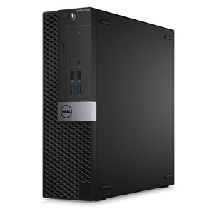 Dell Optiplex 5040 SFF 8GB 240GB SSD Intel Core i5-6400 X4 2.7GHz, Black (Certified Refurbished)