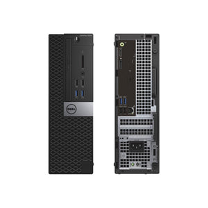 Dell Optiplex 3040 16GB 512GB SSD Intel Core i5-6400 Win10, Black (Certified Refurbished)