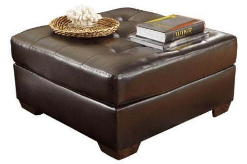 Flash Furniture FSD-2399OTT-CHO-GG Signature Design by Ashley Alliston Oversized Ottoman in Chocolate DuraBlend - Peazz Furniture