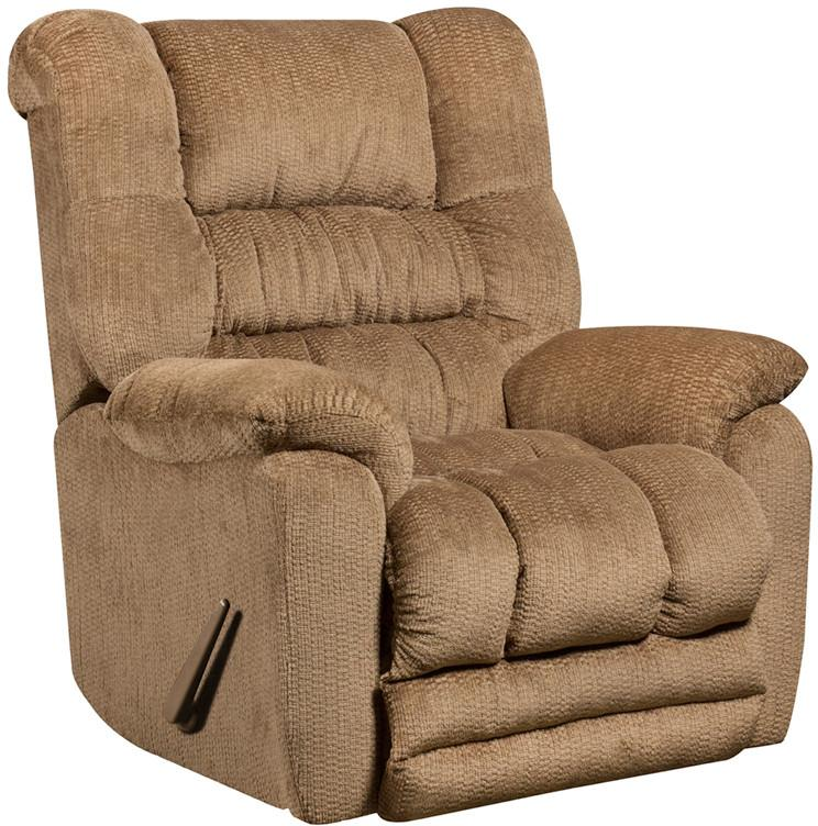 Temptation Fawn Microfiber Rocker Recliner 17042 Product Photo