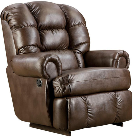 Flash Furniture AM-9930-8550-GG Big and Tall 350 lb. Capacity Loggins Espresso Leather Recliner - Peazz Furniture