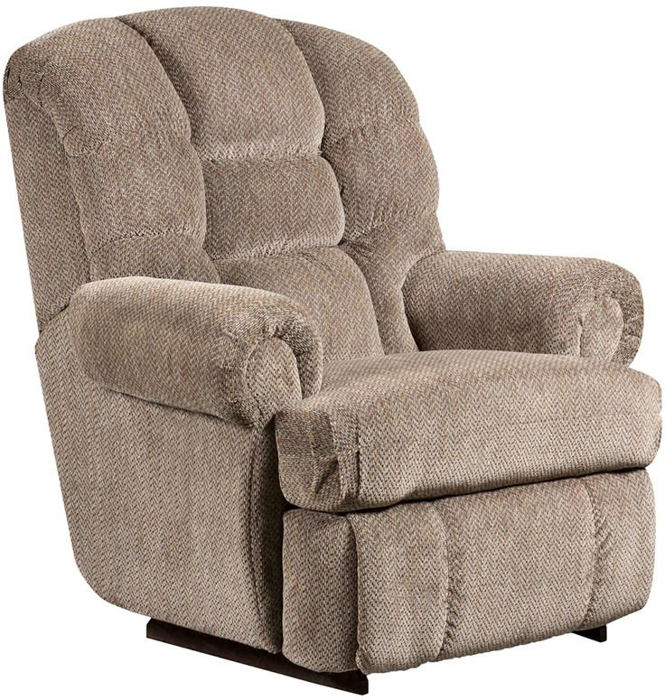 Tall Lb Capacity Gazette Pewter Microfiber Recliner 18537 Product Photo