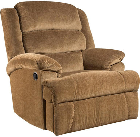 Flash Furniture AM-9960-7920-GG Big and Tall 350 lb. Capacity Aynsley Amber Microfiber Recliner - Peazz Furniture